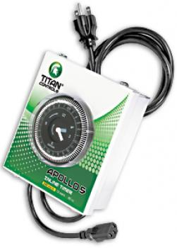 TITAN CONTROLS� APOLLO 5 - 240 VOLT IN-LINE TIMER