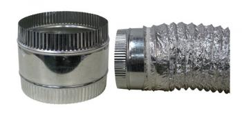 DUCT COUPLER - FLEX 4 INCH