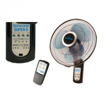 Hurricane Super 8 Digital Wall Mount Fan 16 in (36/Plt)