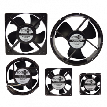 "ECOPLUS�  AXIAL FAN 6"" - .25 AMPS - 28 WATTS - 235 CFM"