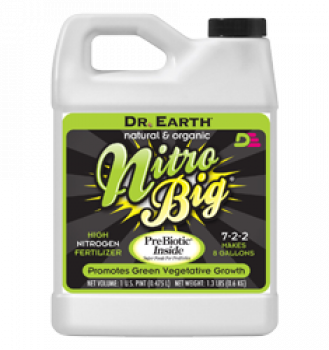 Dr Earth Nitro Big 2.5 Gallon (2/Cs)