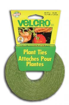 "VELCRO PLANT TIES 45' X 1/2"" ROLL (48/CASE)"