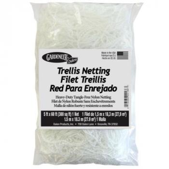 Gardeneer Trellis Netting 5 ft x 60 ft w/ 7 in Holes (12/Cs) (Special Order)