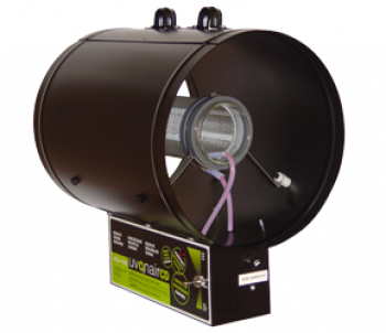 "UVONAIR 10"" CD IN LINE DUCT OZONATOR - 1 CELL"
