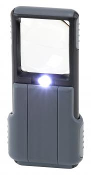 Carson Optical MiniBrite - 5x LED Pocket Magnifier w/ Aspheric Lens (4/Cs)