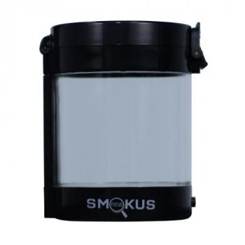 Smokus Focus Middleman Display Container w/ LED and Dual Magnification - Black (10/Cs)