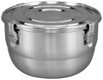 HumiGuard Clamp Sealing Stainless Containers - 6 L / 3/4 lb