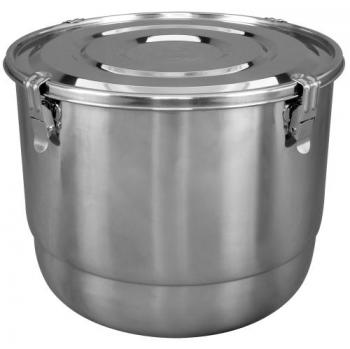 HumiGuard Clamp Sealing Stainless Containers - 17 L / 2 lb