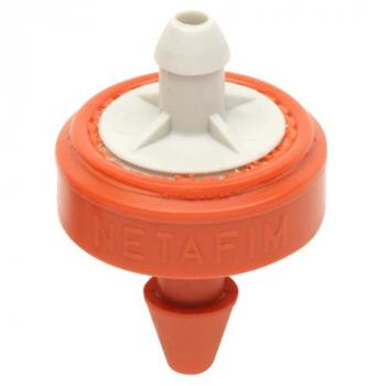 Hydro Flow / Netafim Woodpecker Pressure Compensating Junior Dripper 6.6 GPH (Orange/Grey) (Box of 250)