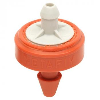 Hydro Flow / Netafim Woodpecker Pressure Compensating Junior Dripper 6.6 GPH (Orange/Grey) (Bag of 25)