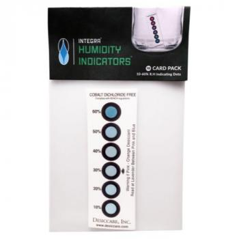 Integra Boost Humidity Indicating Cards (1= 10/Pack)