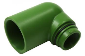 FloraFlex Flora Pipe Fitting 1 in Elbow (250/Cs) 	 760478  FloraFlex Flora Pipe Fitting 1 in Elbow (250/Cs)