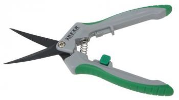 Shear Perfection Platinum Trimming Shear - 2 in Curved Non-Stick Blades (12/Cs)