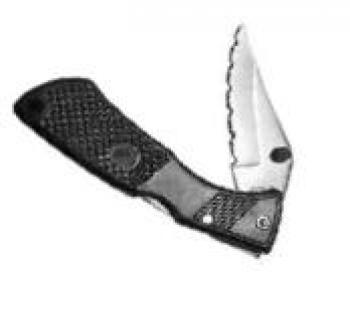 "4"" SERRATED FOLDING KNIFE - CSK7010   PACKED - 12"