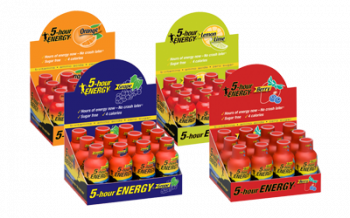 5 Hour Energy Lemon Lime Flavor  (Pack of 12)