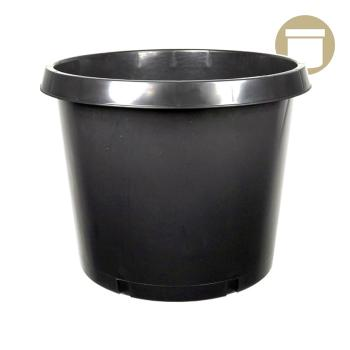 15 Gal. Squat Injection Molded Pot