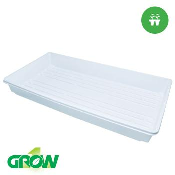 "10"" x 20"" Propagation Trays (no Holes) WHITE"