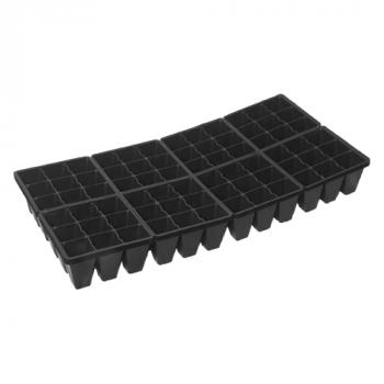 "10"" x 20"" 72 Cell Break-a-Part Seedling Tray (case of 100)"