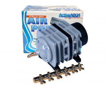 Commercial Air Pump with 6 outlets, 45L per minute