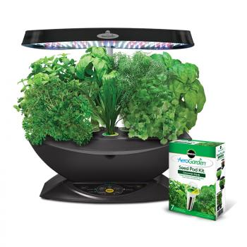 AeroGarden 7 LED with Gourmet Herb Seed Kit