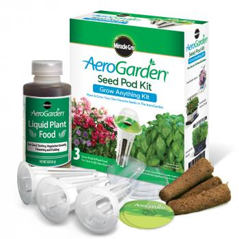 AeroGarden 3-Pod Grow Anything 1-Season Kit