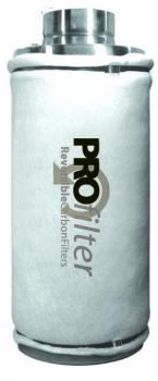PRO filter 45s Non-Reversible Carbon Filter (with flange)