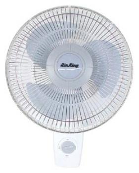"AIR KING� 16"" - 3 SPEED WALL MOUNT OSCILLATING FAN"