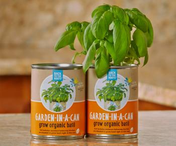 Back to the Roots     Garden in a Can, Basil