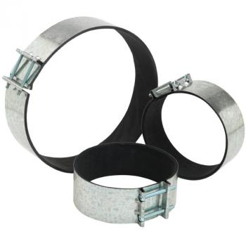 6'' Quiet Clamp (pair)