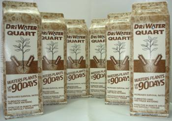 DRiWATER� Combo Pac 4: 6, 32 oz. Quarts of Gel
