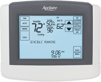 Aprilaire Touchscreen Wi-Fi Automation Thermostat with Integrated IAQ Solution