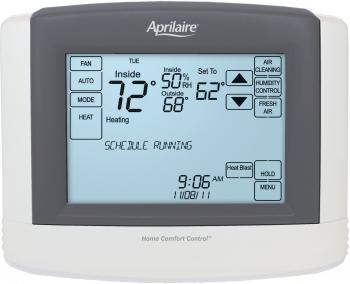 Aprilaire Touchscreen Wi-Fi Automation IAQ Thermostat