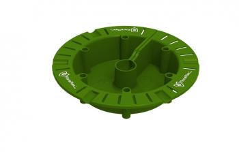 FloraFlex Round Flood and Drip Shied plus Gravity Dripper