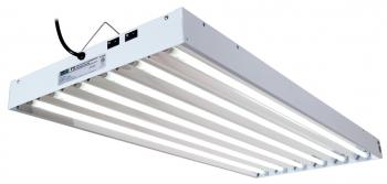 EnviroGro T5 4FT 6 Tube Fixture w/bulbs