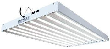 EnviroGro T5 4FT 8 Tube Fixture w/bulbs (No USPS Shipping)