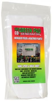 Green Pad CO2 Generator, 5 pads w/2 Hangers