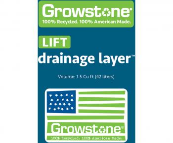 Growstone LIFT Drainage Layer, 1.5 cu ft