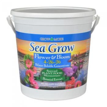 Grow More Sea Grow Flower and Bloom, 5 lb