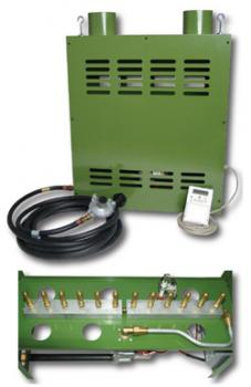 SC GAS PRO 12 BURNER NG CO2 GENERATOR WITH 400 CONTROLLER (SPECIAL ORDER ONLY)