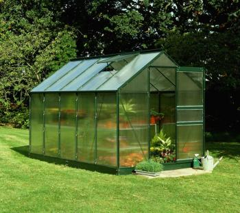 Popular 106 10x6 Green powder coat Greenhouse