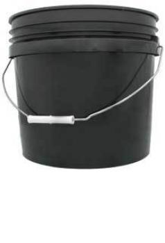 3 gal Black Bucket