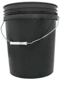5 gal Black Bucket