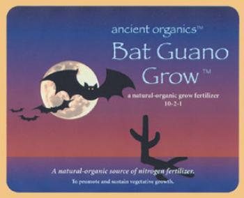 Bat Guano Grow, 20lbs.