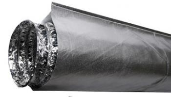 "Heat Shield for 6"" Ducting - 10' Long"