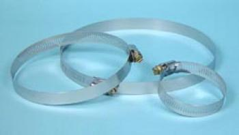 10 IN STAINLESS STEEL HOSE CLAMP Box of 10