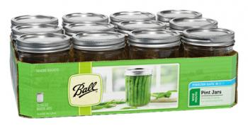 Ball Jar, 16 oz, pack of 12