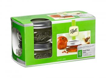 Ball Jar Collection Elite, 8 oz, pack of 4 x 4
