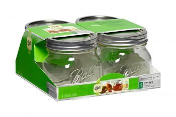 Ball Jar Collection Elite, 16 oz, pack of 4 x 4
