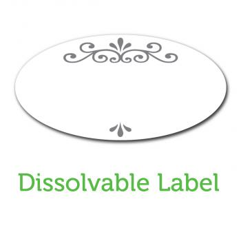 Ball Jar Dissolvable Labels, pack of 60