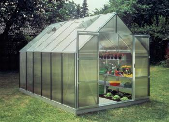 Magnum 128 12x8 double-door model Greenhouse